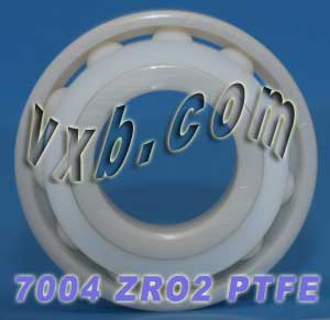 7004 Angular Contact Full Ceramic Bearing 25x47x12:vxb:Ball Bearings