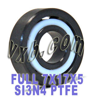 Full Ceramic Bearing Silicon Nitride 7x17x5:vxb:Ball Bearing