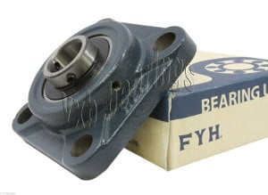 "1 3/4"" Square Flanged Mounted Bearing UCF209-28:vxb:Ball Bearing"