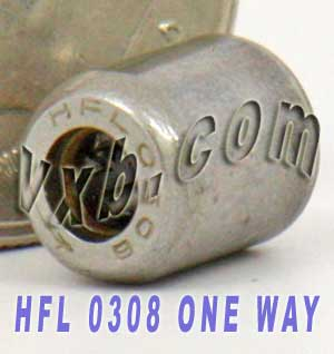 HFL0308 One Way Needle Bearing 3x6.5x8:vxb: Ball Bearings