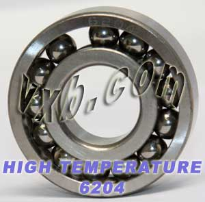 6204 High Temperature Bearing 20x47x14:vxb:Ball Bearing