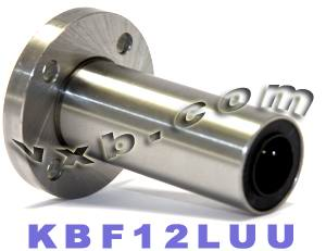 12mm Long Round Flanged Linear Motion Bushing:vxb:Ball Bearings