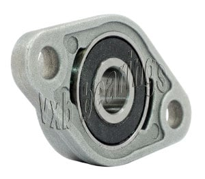 KFL000 Flange Miniature Pillow Block Mounted Bearing:10mm diameter:vxb:Ball Bearings