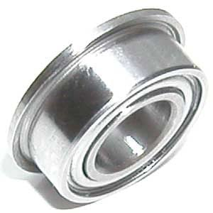 Flanged Ball Bearing 2mm x 6mm x 2.5mm:Ceramic:Chrome:Shielded:vxb:Ball Bearings