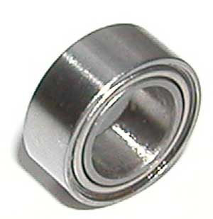 "SR168ZZ Bearing  1/4""x3/8""x1/8"" Stainless:Shielded:vxb:Ball Bearing"