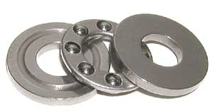 "Thrust Bearing 1 1/8""x1 29/32""x5/8"" :vxb:Ball Bearing"