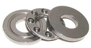2 Thrust Bearing 9x17x5:vxb:Ball Bearing