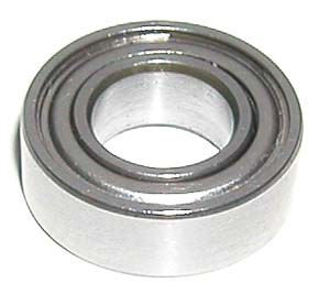 "SR144Z High Speed Bearing 1/8""x1/4""x3/32"" Ceramic:Stainless:Premium ABEC-5:vxb:Ball Bearing"