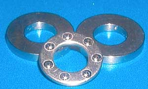 Thrust Bearing 2x6x3 Flat Washers:vxb:Ball Bearing