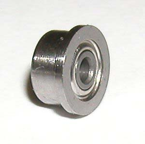 Flanged Bearing 12x18x4 Shielded:vxb:Ball Bearing
