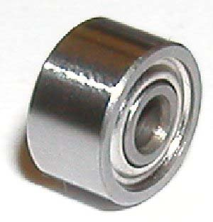 Wide Bearing 8x19x4 Shielded:vxb:Ball Bearing