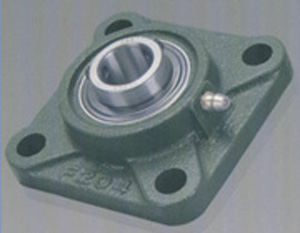 15mm Mounted Bearing UCF202 + Square Flanged Cast Housing:vxb:Ball Bearing