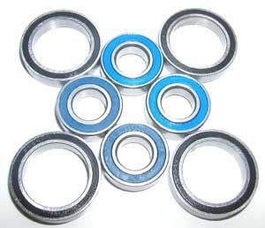 Sealed Bearing Set Team Losi LST 2-10:vxb:Ball Bearing