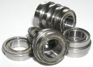 "10 Flanged FR2-5-2TS 1/8""x5/16""x9/64"" Sealed:vxb:Ball Bearings"