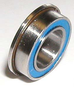 "Flanged Bearing SFR156-2RS 3/16""x5/16""x1/8"":Sealed:vxb:Ball Bearing"