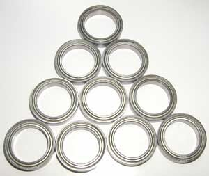 10 Bearing 6702ZZ 15x21x4 Shielded:vxb:Ball Bearing