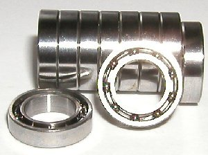 10 Bearing SMR52 2x5x2 Stainless:Open:vxb:Ball Bearing
