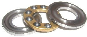 2 Thrust Bearings 4x10x4:vxb:Ball Bearing