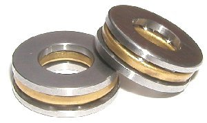 2 Thrust Bearings 4x10x4:vxb:Ball Bearings