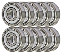14 Sealed Generation 1 Xmods Bearings 3x6x2 Shielded:vxb:Ball Bearing