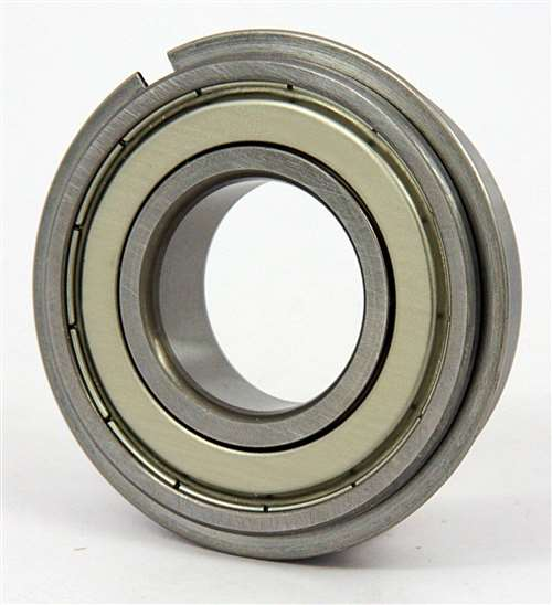 6805ZZNR Bearing 25x37x7 Shielded:Snap Ring:vxb:Ball Bearings