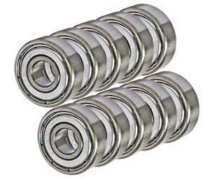 Nikko RHINO SET of 10 Bearing:vxb:Ball Bearings