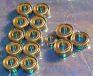 Set 14 Tamiya TG10 Bearing:vxb:Ball Bearings