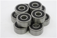 10 Go Kart Bearings (Mini Bikes) 499502H w/Snap Ring:vxb:Ball Bearings