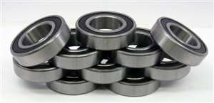 10 Bearing 6200ZZ 10x30x9 Shielded:vxb:Ball Bearings