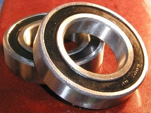 Rear Wheel Bearings (Pair)-Honda H100 SD 84-85 Bearing:vxb:Ball Bearing