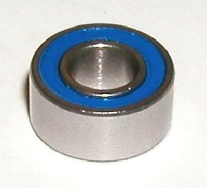 10 Bearing S607-2RS 7x19x6 Stainless:Sealed:vxb:Ball Bearings