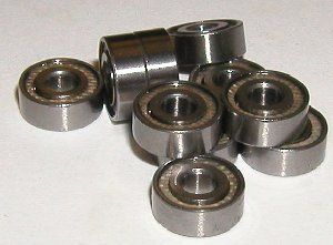 10 Bearing 5x11 Sealed 5x11x4:vxb:Ball Bearings