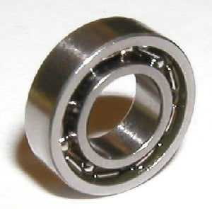10 Bearing 1.5x5x2 Stainless:Open:vxb:Ball Bearings