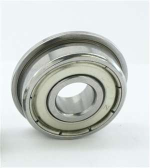 "10 Flanged Bearings FR4ZZ 1/4""x5/8""x0.196"" Shielded:vxb:Ball Bearings"