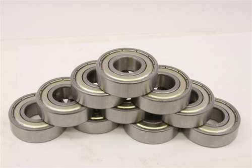 10 Bearing 2.5x8 Shielded 2.5x8x4:vxb:Ball Bearings