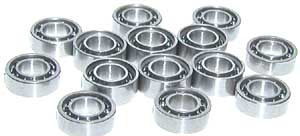 14 OPEN Bearing Generation 1 XMODS Wide Track:vxb:Ball Bearings