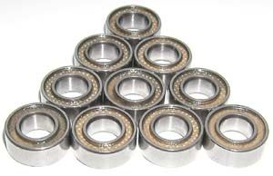 10 Sealed Bearing 5x10x4:vxb:Ball Bearings