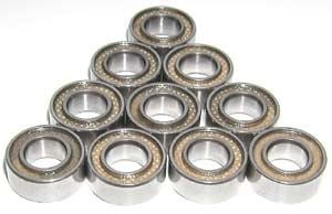 10 Bearing 6x12x4 Sealed:vxb:Ball Bearings