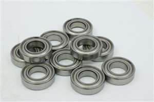 10 Bearings 6x16 Shielded 6x16x5:vxb:Ball Bearings
