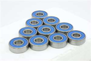 10 Bearing 5x8x2.5 Stainless:Shielded:vxb:Ball Bearings