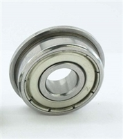 10 Flanged Bearing 6x10x3 Sealed:vxb:Ball Bearing