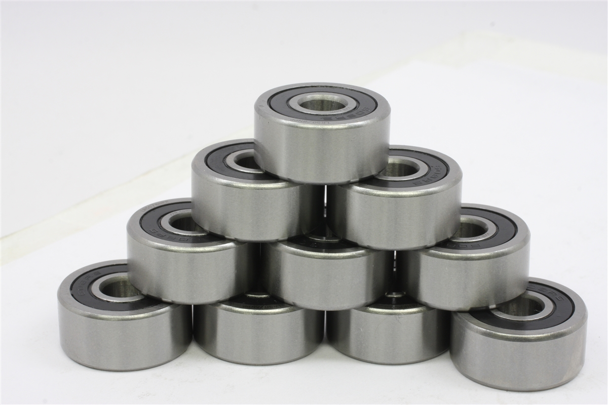 "10 Bearing R155-2RS 5/32""x5/16""x1/8"" Ceramic:Sealed:vxb:Ball Bearings"