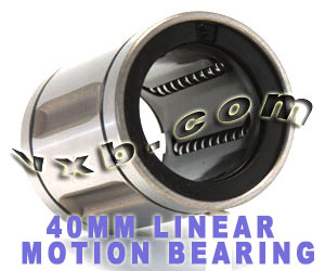 LB40A Linear Bush Bearing 40mm:vxb:Bearings