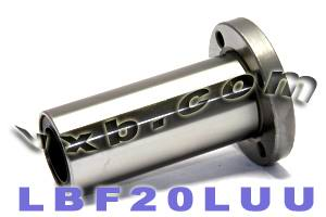 20mm Long Round Flanged Linear Motion Bushing:vxb:Ball Bearings