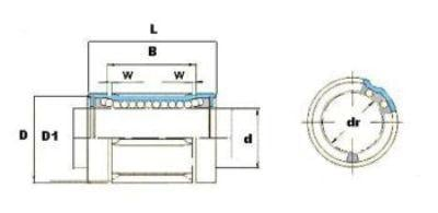 LB20UU Linear Bush Bearing 12mm :vxb:Ball Bearing