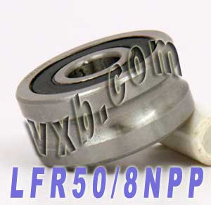 LFR50/8NPP 8mm/6mm U Groove Guide Bearings:vxb:Ball Bearing