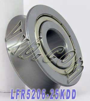 LFR5206-25KDD 25mm U Groove Guide Bearings:vxb:Ball Bearing