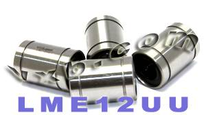 4 Linear Motion Bearing Bushing LME12UU:vxb:Bearing
