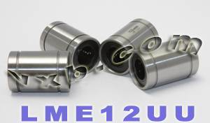 4 Linear Motion Bearing Bushing LME12UU:vxb:Bearings