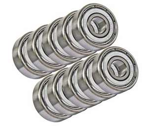 10 Bearing 6x10 Shielded 6x10x3:vxb:Ball Bearings